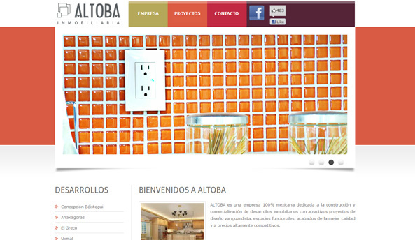 Altoba web design